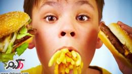 روشی برای فست فود نخوردن کودکان