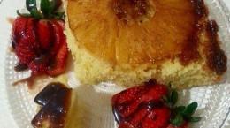 آموزش پخت کیک آناناس خوشمزه