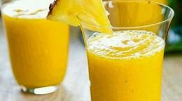 روش تهیه اسموتی پرتقال آناناس