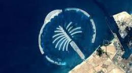 جزایر نخلی یکی از جاذ به های دیدنی در دبی