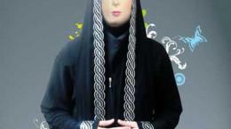 آموزش برش زدن چادر شالی