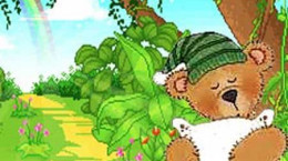 قصه جالب خرس تنبل