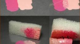 آموزش تصویری گرادینت روی ناخن