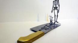 تصاویر جالب،خلاقانه و دیدنی سایه چاقو..!!