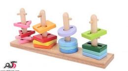 خلاقیت در ساخت اسباب بازی چوبی دست ساز