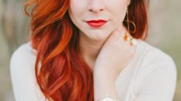 انواع فرمول و ترکیب رنگ موی نارنجی روشن و تیره به همراه تصاویر
