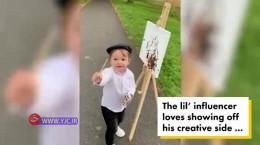 فیلم کسب درآمد یک پسربچه سه ساله