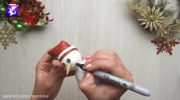 آموزش ایده های دکوراسیون کریسمس فوق العاده ساده ولی زیبا و شیک