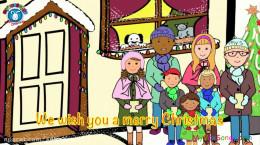 کلیپ موزیکال شاد کریسمس برای کودکان
