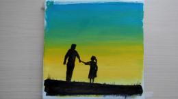آموزش نقاشی به کودکان | این قسمت نقاشی روز پدر بسیار زیبا