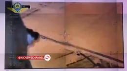 اولین تصاویر از جریمه خودروها با پهپاد توسط پلیس