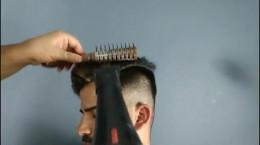 آموزش سشوار و حالت دادن مو