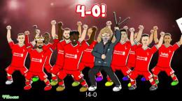 کارتون طنز غر زدن کلوپ از بلایی که رئال مادرید بر سرش آورد !