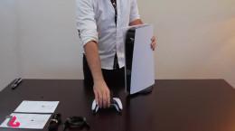تایم لپسی از جعبه گشایی  پلی استیشن 5 دیجیتالی
