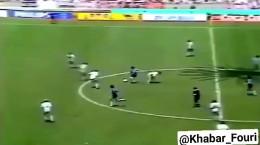 کلیپ دیگو مارادونا در زمین فوتبال