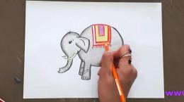آموزش نقاشی به کودکان ساده ۷ تا ۱۰ ساله