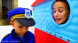 فیلم کودکانه پلیس بازی ولاد و نیکیتا