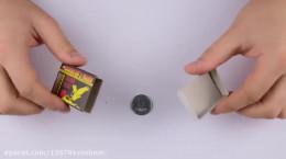 شعبده بازی با کبریت و قوطی کبریت