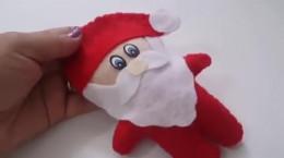 آموزش ساخت عروسک بابانوئل نمدی