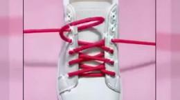 بستن بند کفش دخترانه جدید و زیبا