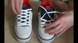 طرز بستن بند کفش بدون گره