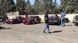مسابقات اتومبیل رانی در ایران ورزشگاه آزادی