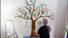 تایم لپسی از طراحی اتاق بچه