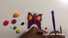 آموزش درست کردن پروانه با خمیر بازی ۲۰۲۱