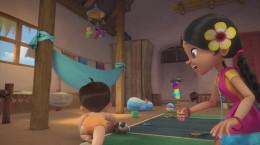 کارتون سریالی بیم کوچولوی قدرتمند فصل اول قسمت هشتم ۸ بی کلام