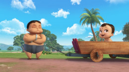 کارتون سریالی بیم کوچولوی قدرتمند فصل دوم قسمت دهم ۱۰ بی کلام