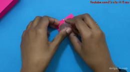 درست کردن کاردستی مبلمان مینیاتوری با کاغذ رنگی