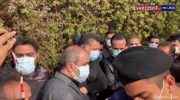 حضور علی کریمی و علی دایی در مراسم خاکسپاری مهرداد میناوند