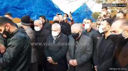 مراسم خاکسپاری علی انصاریان با حضور پیشکسوتان فوتبال