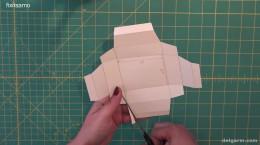 آموزش ساخت جعبه کادویی با مقوا