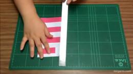 آموزش ساخت پاکت کادویی زیبا با مقوا