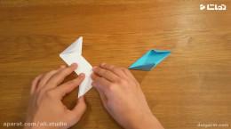 آموزش ساخت چاقو نینجا با کاغذ