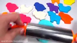 ساخت حیوانات با خمیر بازی