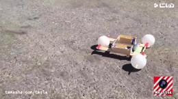 درست کردن کاردستی ماشین برای مدرسه