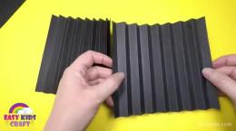 آموزش ساخت کفشدوزک کاغذی