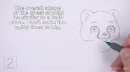 نقاشی کشیدن برای بچه ها یوزپلنگ