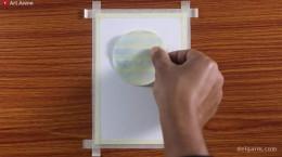 آموزش طراحی و نقاشی کشتی با پاستل روغنی