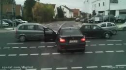 تصادف شدید تراکتور، شانس آورد