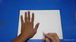 ساخت پرنده با کاغذ برای بچه ها