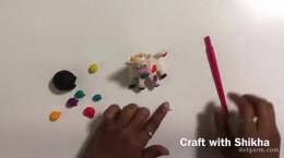 آموزش ساخت گاو نشسته با خمیر بازی برای عید نوروز ۱۴۰۰