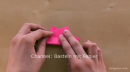 آموزش ساخت کاردستی با کاغذ رنگی قلب کاغذی