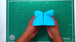 ساخت عروسک نمایشی کوسه با کاغذ