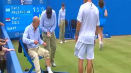 اتفاقات باحال و عجیب در مسابقات تنیس