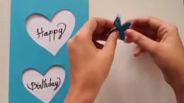 ساخت کارت پستال برای تولد