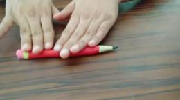 آموزش درست کردن مداد و پاک کن با خمیر بازی