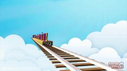 کارتون شاد کودکانه قطار الفبا به زبان ترکیه ای